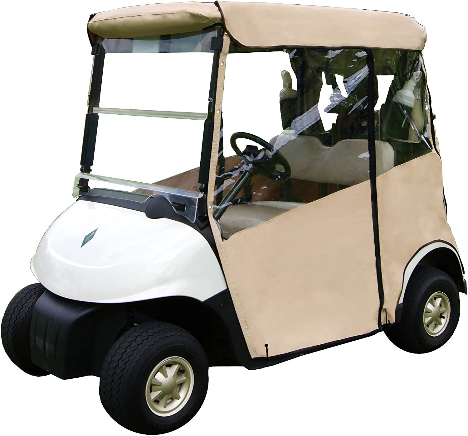 """Golf Cart Cover – 3-Sided 安値 2014+ """"Over-The-Top"""" 大幅値下げランキング EZ for"""