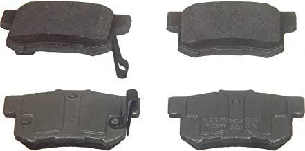 Wagner ThermoQuiet QC537 Ceramic Disc Pad Set, Rear