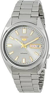 Seiko 5 Men's SNXS75 Automatic Grey Dial Stainless-Steel Bracelet Watch