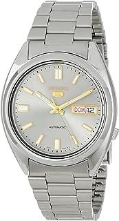 Seiko 5 Men's SNXS75 Automatic Grey Dial Stainless-Steel Bracelet Watch
