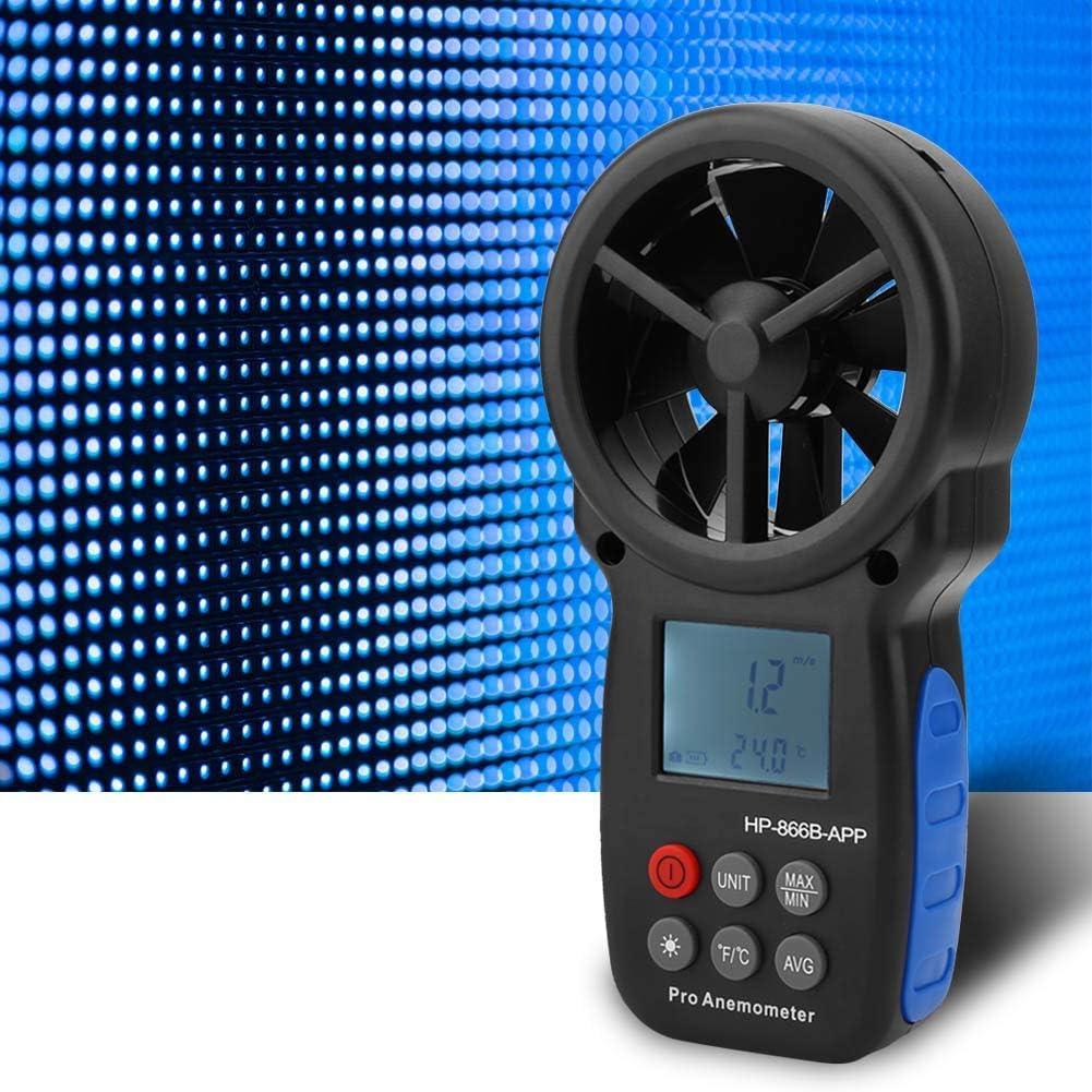Yadianna Digital Austin Super-cheap Mall Handheld Anemometer USB Wind Professional Spee
