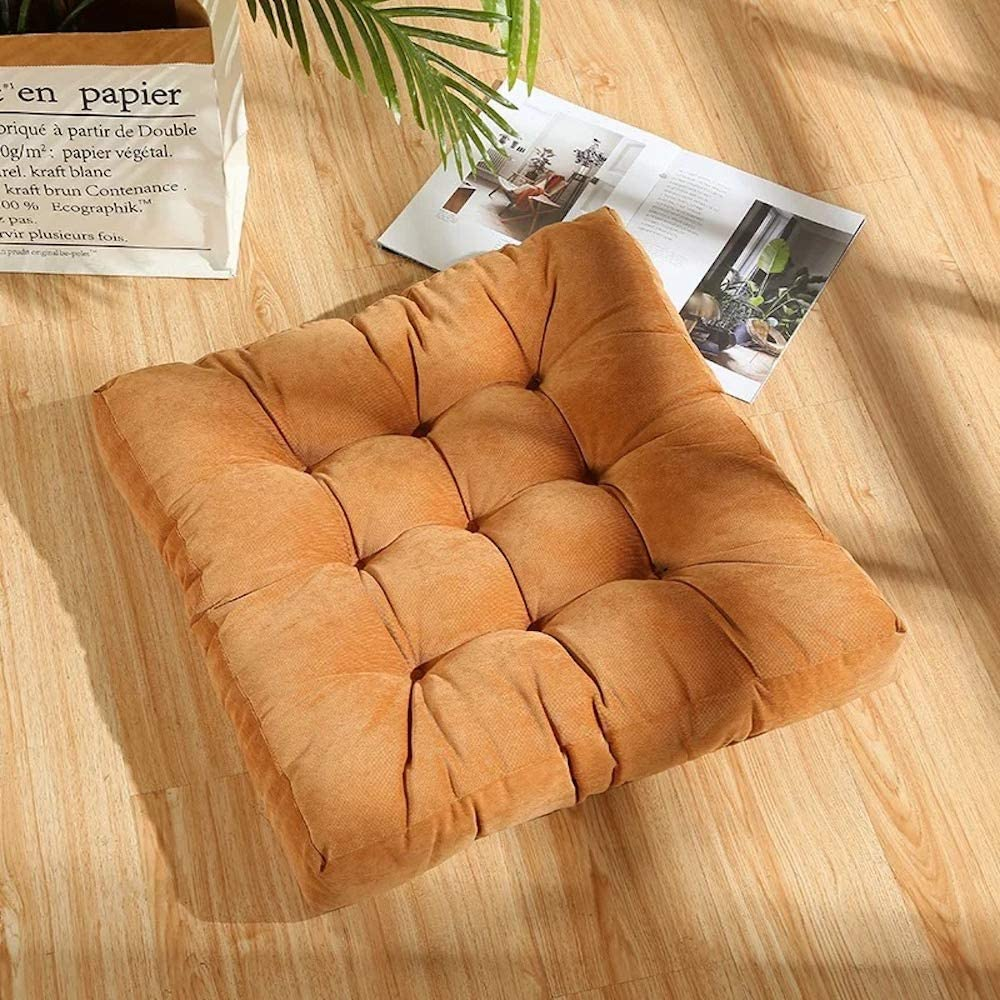 High order Nathime Floor Pillow Square Meditation Flo Indianapolis Mall on Seating for