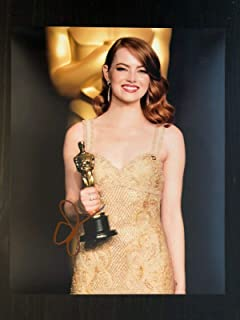Emma Stone Signed Autograph 8x10 Photo - Hot, Sexy, Zombieland, La La Land Oscar