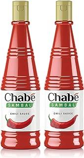 Chabé Sambal Chili Hot Sauce 2 Pack, 10.9 Fluid Ounce