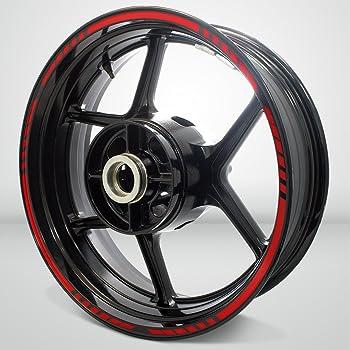 0300 090 Argento MV Agusta F3 F4 Brutale Rivale adesivi ruote interno strisce cerchi decalcomanie strip cerchioni Cod