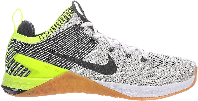 Nike Men's Metcon DSX Flyknit 2 Training shoes (10.5, Black White Gum)