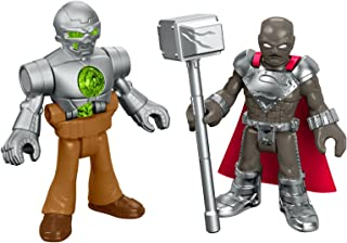Fisher-Price Imaginext DC Super Friends, Steel & Metallo