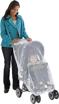 Nuby 蚊帐适用于婴儿车和 carriers ,白色,通用尺码, bug 套,天气保护