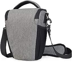 CADeN DSLR/SLR Camera Shoulder Bag Case with Adjustable Shoulder Strap, Compatible for Nikon, Canon, Sony Mirrorless Cameras Waterproof Gray