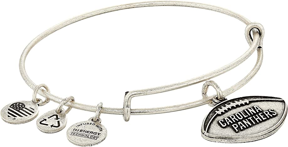 Alex and Ani Women's NFL Carolina Panthers Football Bangle