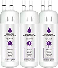 QUANUR 9081 9930 Refrigerator Water Filter Replacement, Compatible for Kenmore 9081, 469081, 469930, 9930 Kenmore refrigerator water filter 9081,Kenmore 9930 water filter 1,white (3 PCS)