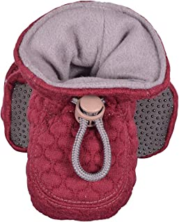 Melton Unisex Quilted Baby & Toddler Booties