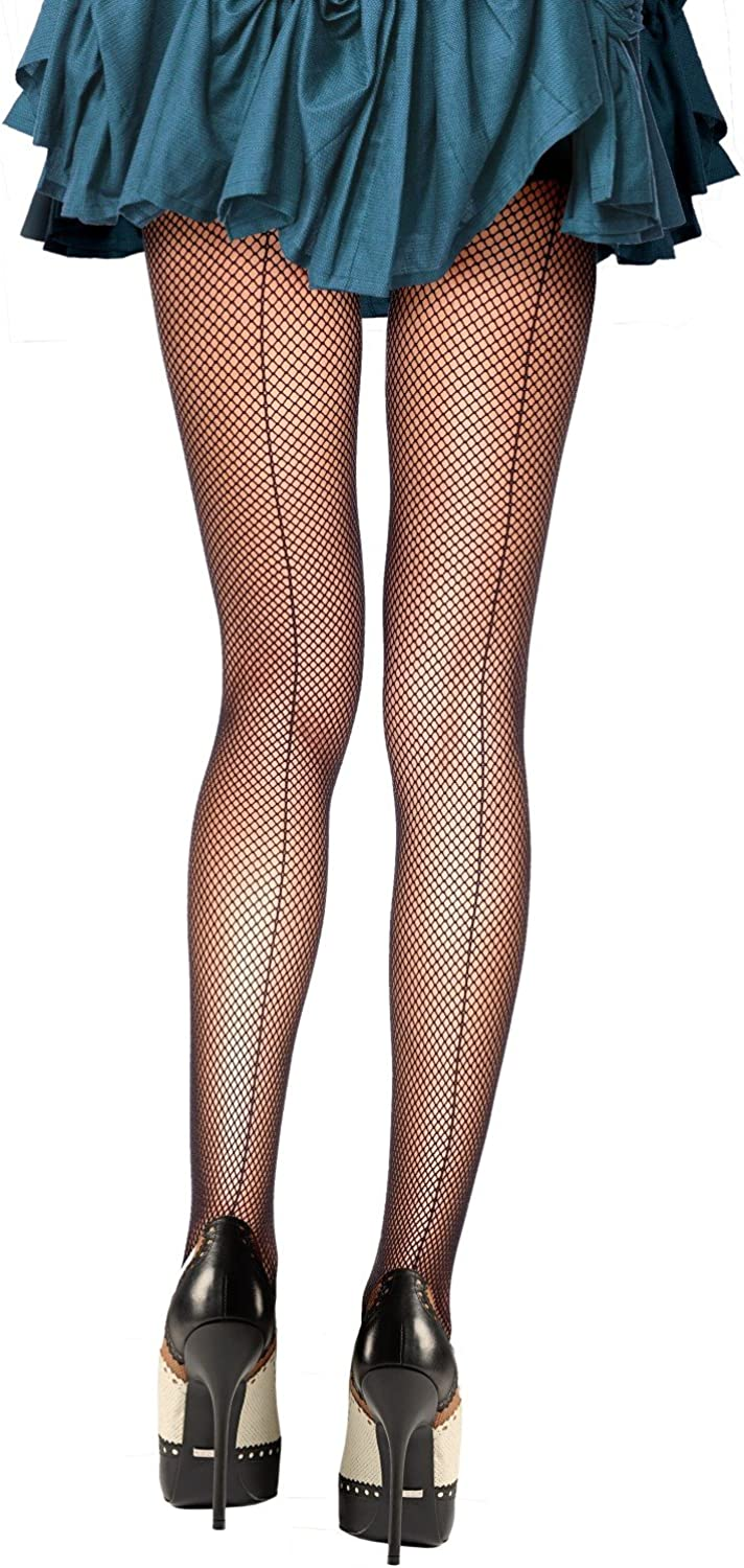 Fishnet Deluxe Backseam Online limited product Panty Hose