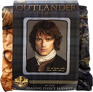 Outlander Fleece Blanket   Premium Quality Pop Culture Home Accessory for Birthdays, House Warming Parties, Holidays, and More