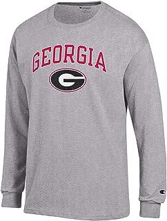 Elite Fan Shop NCAA Men's Long Sleeve Shirt Oxford Gray