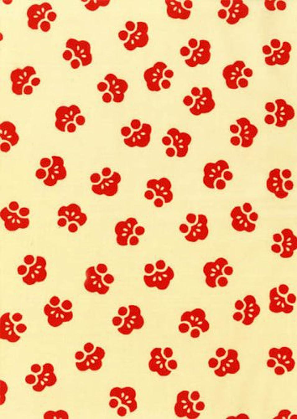 サーカス引き金スプレー[江戸てん]手ぬぐい 注染 梨園染 綿100% 日本製 梅ちらし