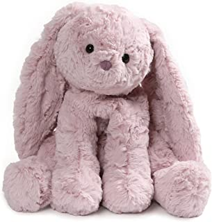 GUND Cozys Collection Bunny Rabbit Stuffed Animal Plush, Dusty Pink, 8