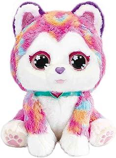 VTech - Hope The Rainbow Husky - Interactive Soft Plush Dog, Vet Role Play - 529703