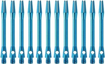 ABOOFAN 12 x 45mm Dart Stelen Dart Shaft 2BA Draad Aluminium Dart Stengels Accessoires