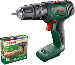 Bosch Home and Garden 06039D4100 Bosch Cordless Hammer Drill UniversalImpact 18 (without battery, 18 Volt System, in cardb...