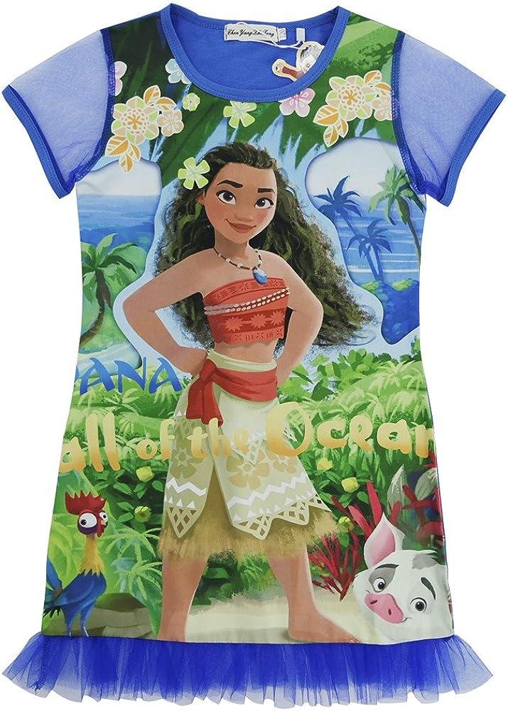 Famacy Moana Indianapolis Mall Girls Pajama Tank Sleep Children Ca Nightshirt Minneapolis Mall Gown