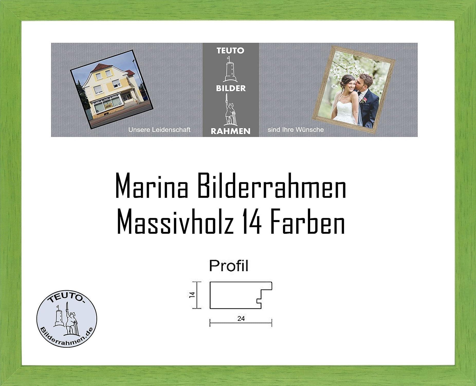 ¡envío gratis! Teuto-Bilderrahmen Marina Marco de Madera 61 x 86 cm cm cm Madera Maciza Simple Elegante 86x61 cm Vidrio acrílico antirreflexivo 2mm en 14 Colors Diferentes aquí  Trébol  garantía de crédito