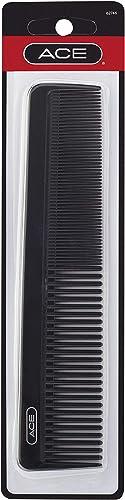 Goody Hair Ace Dressing Hair Comb, Black, 7.5 Inch