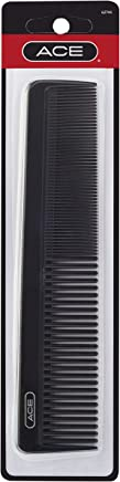 Goody Ace Dressing Comb, Black, 7.5 Inch