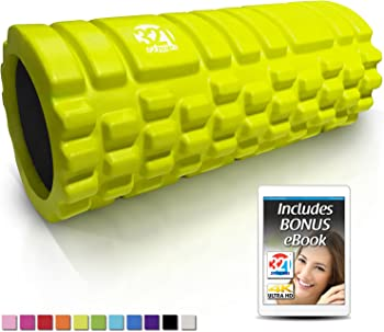 321 Strong Foam Roller Medium Density Deep Tissue Massager