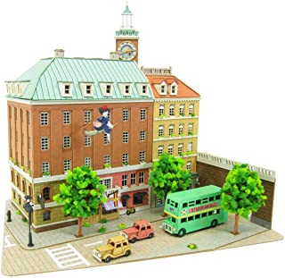 さんけい みにちゅあーとキット スタジオジブリシリーズ 魔女の宅急便 コリコの町 1/220スケール ペーパークラフト MK07-16