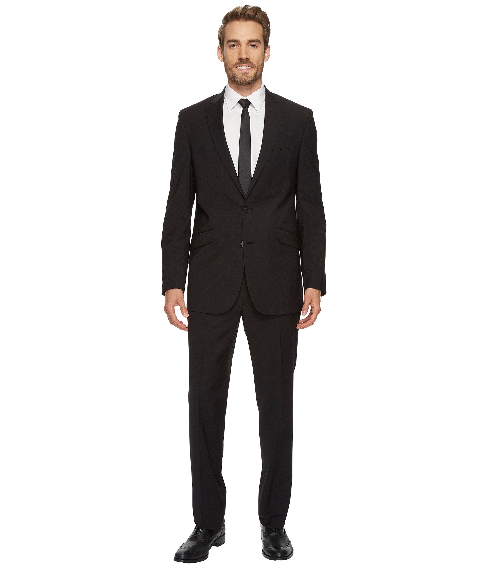 Vestido para Hombre Kenneth Cole Reaction Tonal Stripe Suit  + Kenneth Cole Reaction en VeoyCompro.net