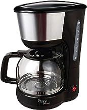 Emjoi/Coffee maker/High power 1000w/Anti-drip feature/Keep warm function/With anti-slip feet, black, UECM-351