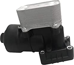 BOXI Engine Oil filter assembly Oil Cooler For 2010-2018 1.6 2.0 TDI Audi A1/A4/A5/A6/Q3/Q5/TT, VW Amarok/Beetle/CC/EOS/Golf/Jetta/Passat/Polo/Scirocco/Tiguan/Touran/Transport, Seat, Skoda 03L115389B
