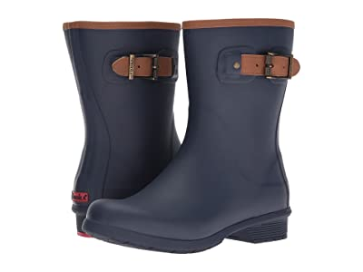 Chooka City Solid Mid Boot (Navy) Women