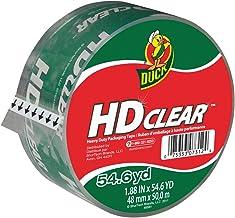 Duck HD Clear Heavy Duty Packing Tape Refill, 1.88 Inch x 54.6 Yard, 1 Roll (297438)
