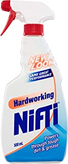 Nifti Hardworking Multi-Purpose Kitchen and Bathroom Household Cleaner Trigger Surface Spray, Made in Australia, 500mL