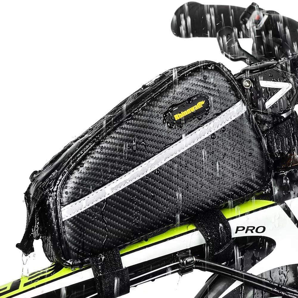 Rhinowalk Borsa da bicicletta impermeabile per bicicletta borsa anteriore per tubo superiore