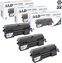 LD Compatible Toner Cartridge Replacement for Ricoh 407316 Extra High Yield (Black, 3-Pack)