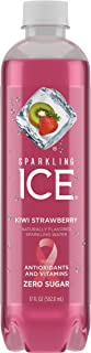 Sparkling ICE Spring Water (Kiwi Strawberry, 17 Oz Pack of 12 Units)