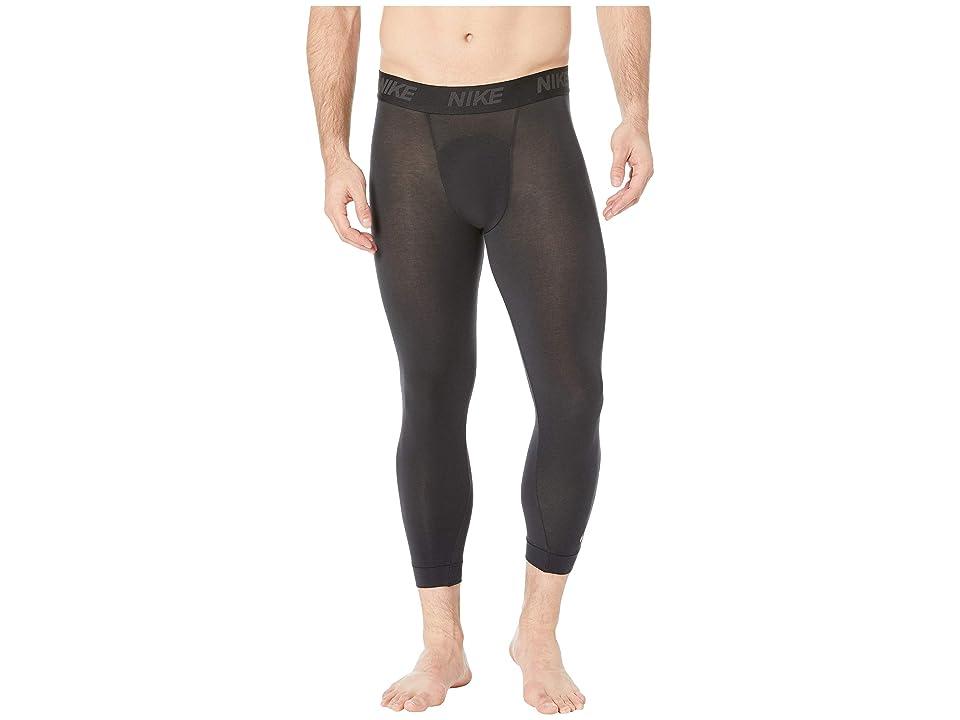 Nike Dry 3/4 Tights Transcend (Black/Dark Grey) Men
