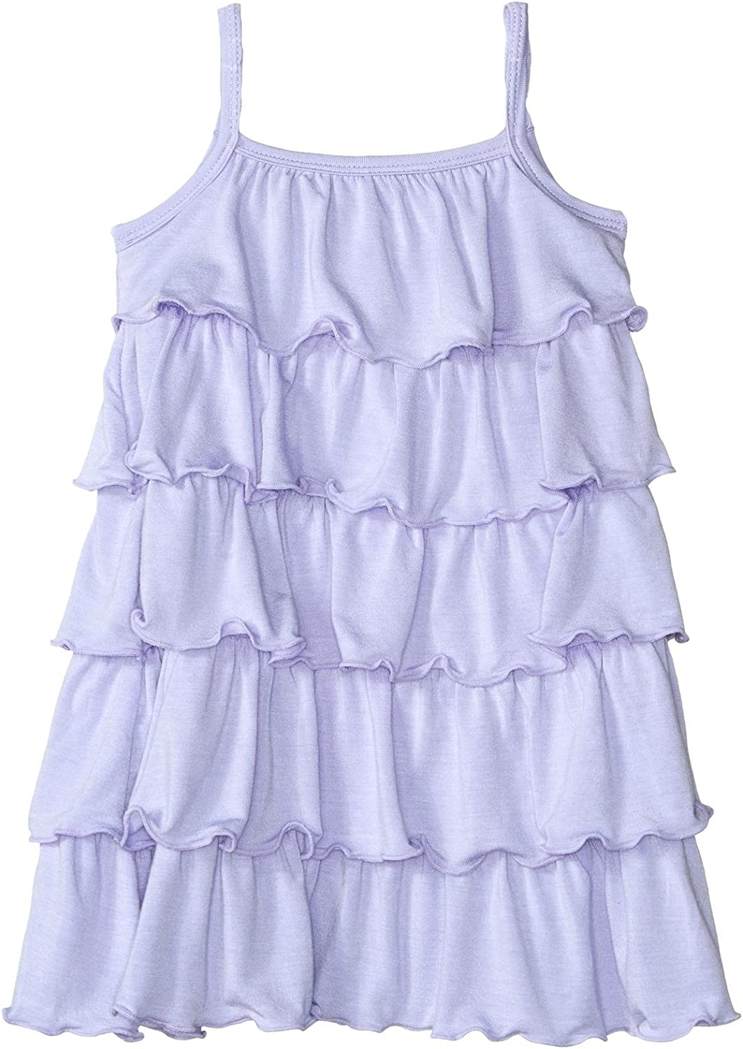 KicKee Pants Baby Girls' Solid Ranking TOP14 Prd-kprd04-lc Albuquerque Mall Dress Ruffle Tiered