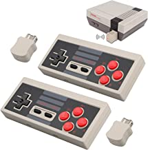 2pcs Wireless Game Controller for NES Classic Edition, NiceCo 2.4G No-Wired Gamepad Joypad with Receiver for NES Classic G...