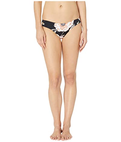 Roxy Print Beach Classics Strappy Full Bottoms (Anthracite New Flowers) Women