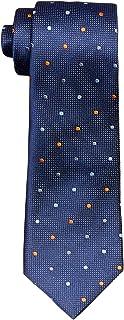 Van Heusen Men's Silk Tie, Navy Spot, One Size