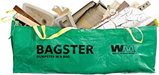 BAGSTER 3CUYD Dumpster in a Bag holds up to 3,300 lb, Green