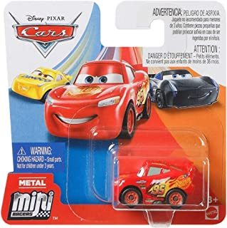 Cars Mattel Disney Pixar Metal Mini Racers 4cm (Lightning Mcqueen)