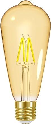 Lâmpada LED Filamento Vintage Autovolt E27, 4W, Ambar Taschibra ST64 11080379