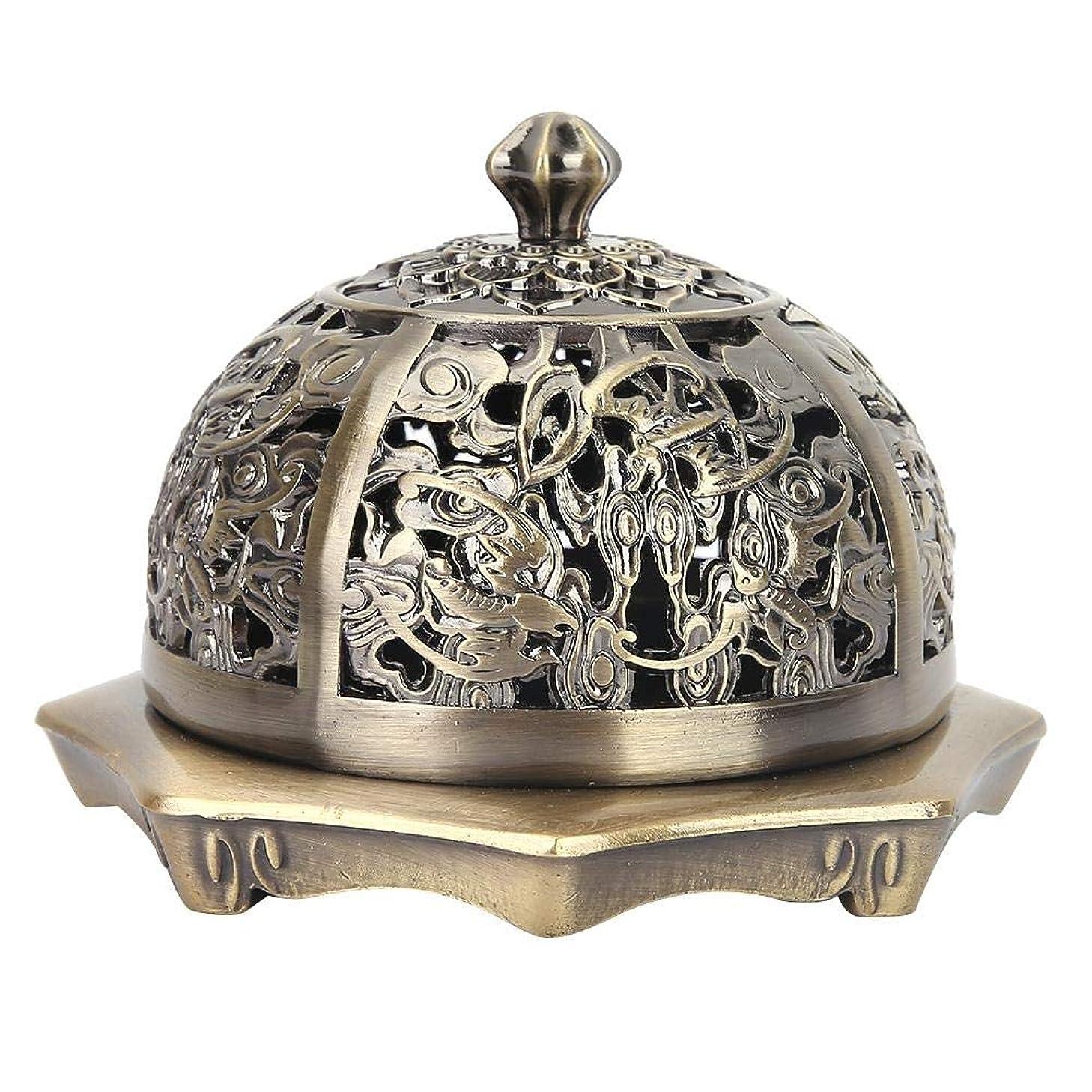 奴隷モトリー自己香炉 アロマ香炉 丸香炉 アロマバーナー アロマ炉 お香バーナー蓋付き お香ホルダー お香 心を落ち着かせてくれる