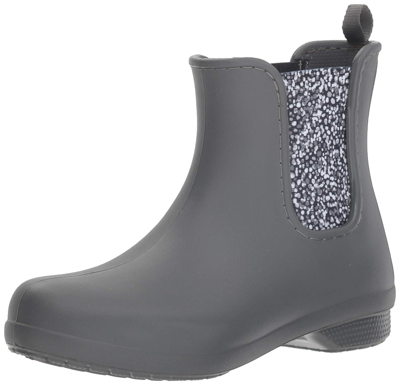 演じる東ティモールくしゃくしゃ[Crocs] Women's Freesail Chelsea Rain Boot [並行輸入品]