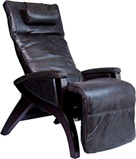 Svago ZGR Newton - The Ultimate Leather Zero Gravity Recliner (Pepper)